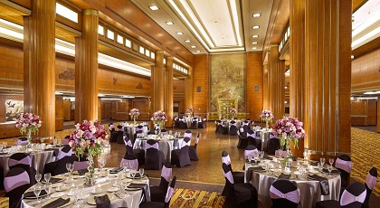 Main Dining Room / Ballroom Used for Wedding and Special Events - Copyright: The Queen Mary Hotel