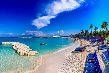 Beautiful Beaches Great Stirrup Cay Bahamas Norwegian Cruise Line Private Island
